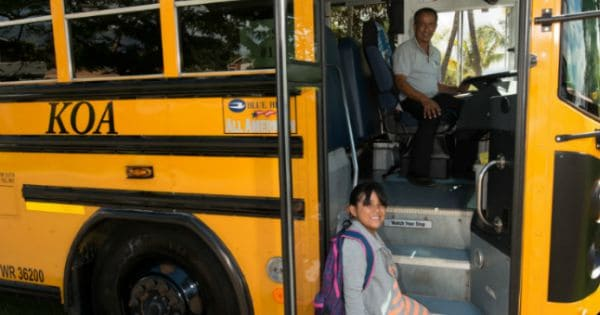 Akina Bus Service Goes Back To School
