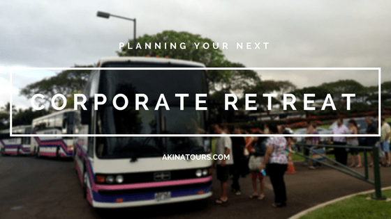 Planning your Next Corporate Retreat