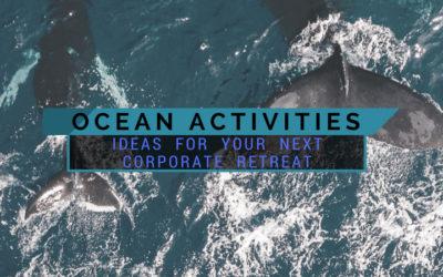 Best Ocean Activity Ideas For Your Next Corporate Retreat