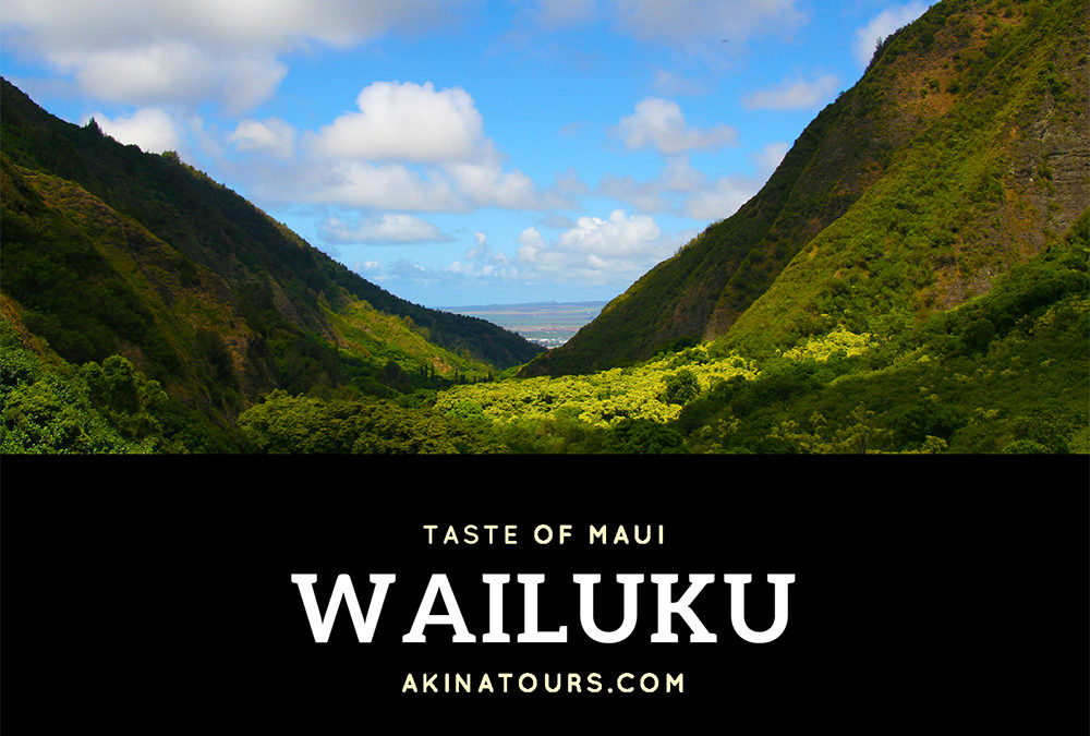 Taste of Maui – Wailuku Town