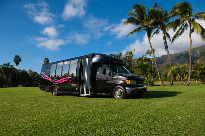 Our Maui Limo Bus Rental Has You Showing Up in Style!