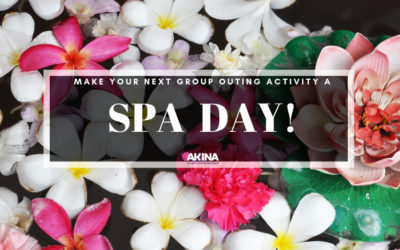 Make Your Next Group Outing Activity a Spa Day