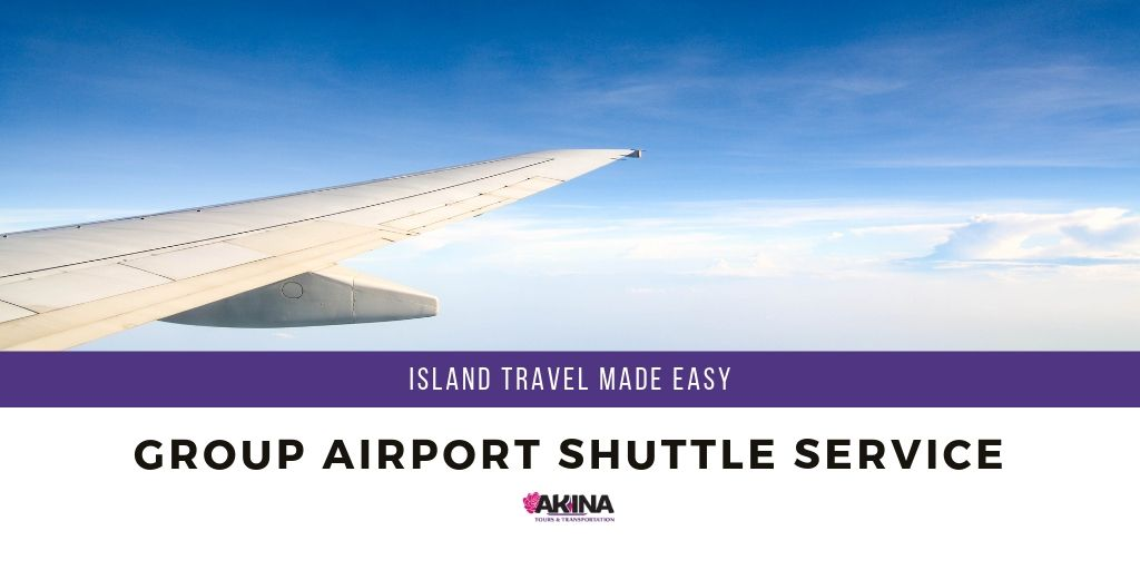 Make Travel Easy on Maui with our Group Airport Shuttle Service