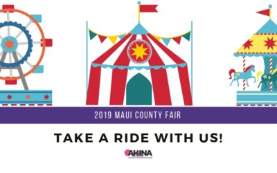 Take a Ride to the 2019 Maui County Fair with US!