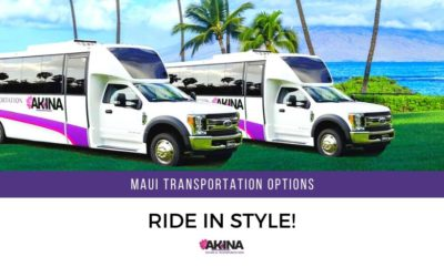 Ride in Style with One of Our Many Maui Transportation Options
